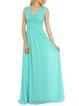 V Neck Swing Casual Sleeveless Guipure Lace Maxi Dress
