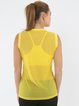 Yellow Mesh Stretchy (Breathable) Top (Sportswear for Pilates)