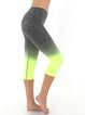 Lime Stretchy Natural Breathable Bottom (Sportswear for Yoga)