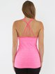 Stretchy Tank Polyester Breathable Top (Sportswear for Fitness)