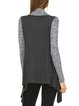 Knitted Long Sleeve Color-block Casual Cardigan