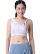 Multicolor Polyester Quick Dry Sports Bra (Sportswear for Yoga)