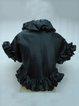 Ruffled Elegant H-line Frill Sleeve Cropped Jacket