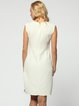 Elegant Sheath Sleeveless Mini Dress