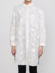 Long Sleeve Embroidered Casual Tunic