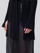 Elegant Two Piece Long Sleeve Turtleneck Sweater Dress