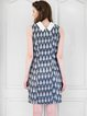 Girly H-line Woven Sleeveless Midi Dress