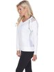 White Breathable Slightly Stretchy Cotton Top