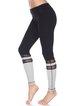 Black Cotton Slightly Stretchy Breathable Bottom Leggings
