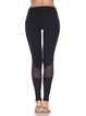 Black Natural Cotton Breathable Bottom Leggings