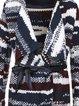 Long Sleeve Acrylic Abstract Casual Cardigan