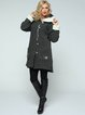 Casual Embroidered Long Sleeve Wool Blend Coat