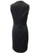 Sheath Crew Neck Elegant Sleeveless Mini Dress