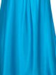 Blue Halter Sleeveless Solid Camis