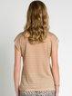 Khaki Elegant Knitted Blouse