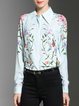 Mint Casual Printed Floral Blouse