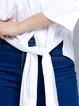 Work 3/4 Sleeve High Low Blouse