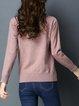 Casual Long Sleeve Animal Sweater