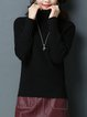 Casual Cable Long Sleeve Sweater