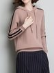 Long Sleeve Casual Hoodie Knitted Sweater