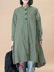 Asymmetric Knitted Casual Long Sleeve Dress