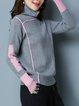Long Sleeve Turtleneck Casual Sweater