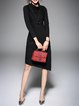 Long Sleeve Casual Knitted Asymmetric Sweater Dress