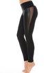 Moisture Permeability Stretchy Nylon Natural Sports Bottom Leggings
