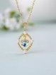 Gold-Color Silver-Color Necklace