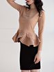 Ruffled Casual Long Sleeved Top