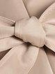 Khaki Simple Paneled Trench Coat