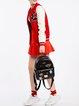 Black Cute Embroideried PU Sweet Backpack