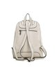 Beige Large Cowhide Leather Backpack