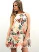 Multicolor Casual Silk Printed Mini Dress