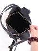 Black Small Casual Nylon Backpack