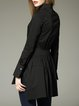 Black Long Sleeve Asymmetric Tunic