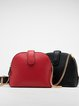 Magnetic Casual Cowhide Leather Mini Crossbody