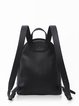 Black Casual Mini Backpack