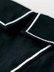 Cotton-blend Casual Pockets Long Sleeve Plain Tunic