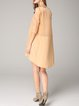 Half Sleeve Linen Shift Simple Mini Dress
