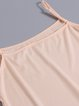 3/4 Sleeve Silk Casual Graphic Midi Dress