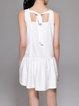 A-line Pockets Sleeveless Casual Mini Dress