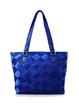 Royal Blue Casual Medium Tote