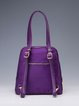 Purple Zipper Casual Nylon Backpack