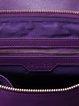 Purple Medium Casual Satchel