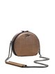 Small Casual Cowhide Leather Zipper Crossbody