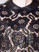 Faux Leather Lace Mini Dress