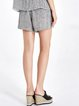 Gray Pockets Casual Shorts