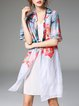 Multicolor Vintage Printed Coat