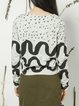 Light Green Abstract Long Sleeve Printed Long Sleeved Top